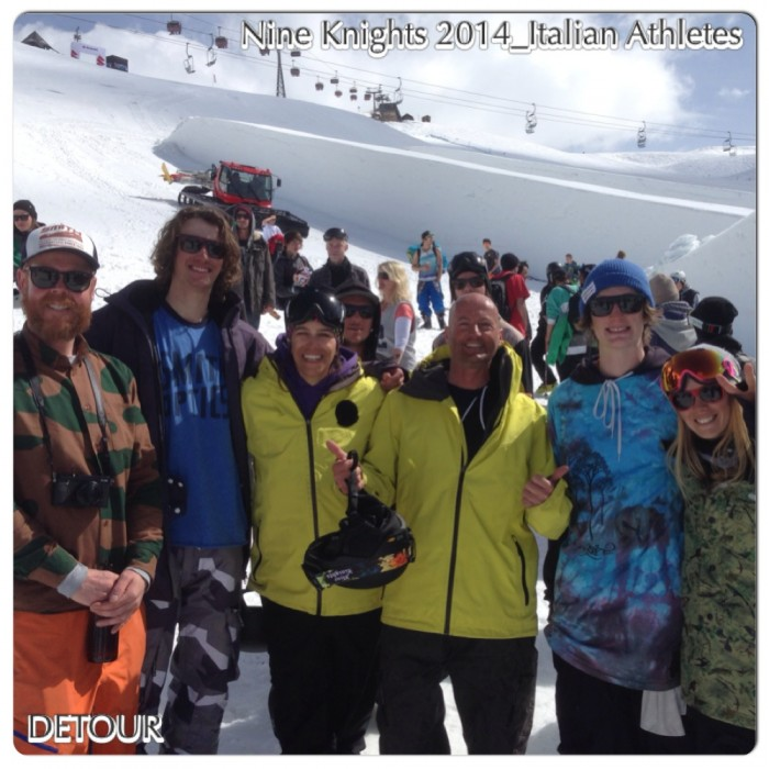 LIVIGNO: NINE KNIGHTS_NINE QUEEN_FREE SKI EVENT 2014
