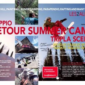 SUMMER CAMP 2015: DETOUR_ISCRIZIONI APERTE_LES 2 ALPES